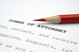 Power of Attorney ...