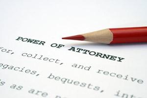 Power of Attorney ...